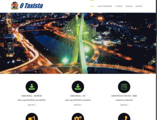 sinditaxisp.org.br screenshot