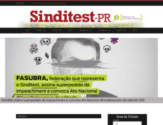 sinditest.org.br screenshot