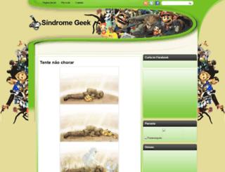 sindromegeek.blogspot.com.br screenshot
