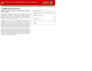 sineb.mineducacion.gov.co screenshot