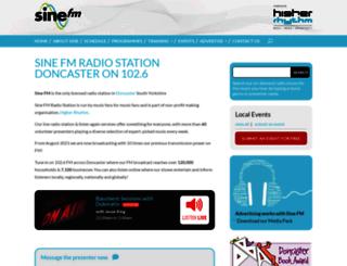 sinefm.com screenshot
