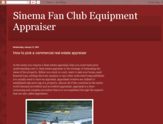 sinemafanclub.blogspot.com screenshot