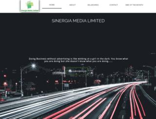 sinergiamedia.com.ng screenshot