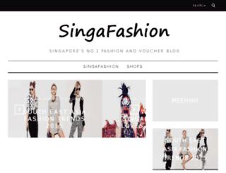 singafashion.com screenshot