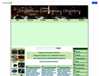 singapore-companies-directory.com screenshot