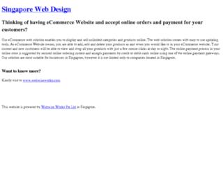 singapore-ecommerce.com screenshot