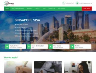 singapore-visa.com.sg screenshot