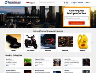 singapore.exportersindia.com screenshot
