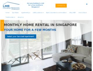 singapore.lmbhousing.com screenshot