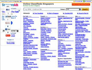 singaporeads.info screenshot