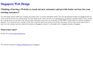 singaporecrm.com screenshot