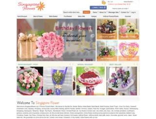 singaporeflower.org screenshot