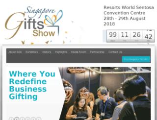 singaporegiftsshow.com screenshot