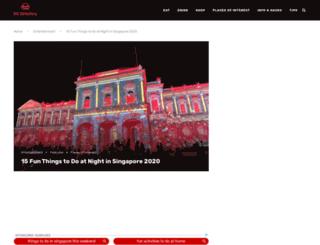 singaporenighttrail.com.sg screenshot