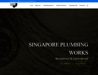 singaporeplumbingworks.com screenshot