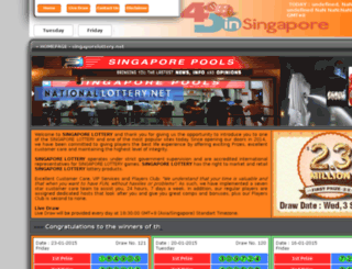 singaporepools.biz screenshot