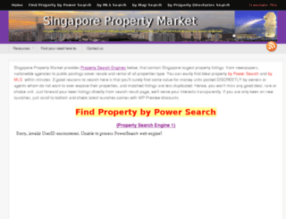 singaporepropertymarket.com screenshot