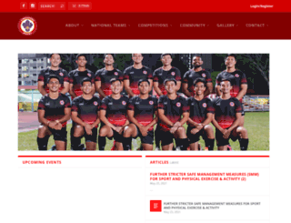 singaporerugby.com screenshot
