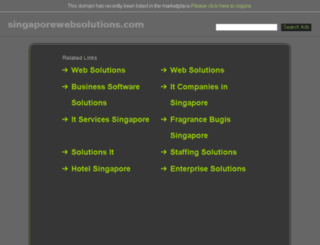 singaporewebsolutions.com screenshot