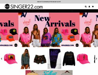 singer22.com screenshot