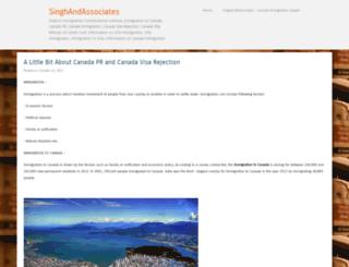 singhandassociatess.wordpress.com screenshot