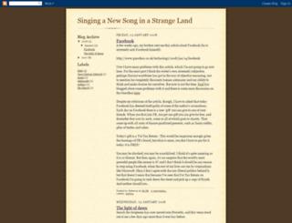 singing-a-new-song.blogspot.com screenshot