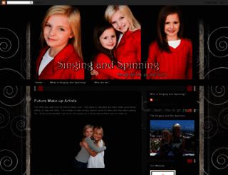 singingandspinning.com screenshot