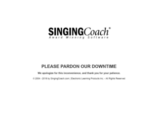 singingcoach.com screenshot
