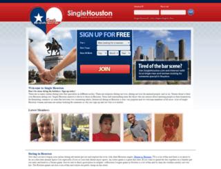 singlehouston.com screenshot