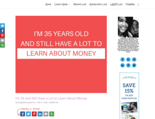 singlemommywarrior.com screenshot