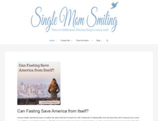 singlemomsmiling.com screenshot
