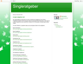 singleratgeber.blogspot.co.at screenshot