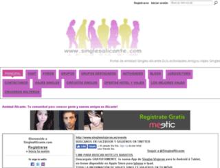 singlesalicante.ning.com screenshot