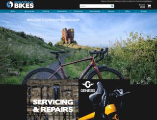 singletrackbikes.co.uk screenshot