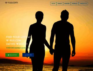 singlewoman.w-rus.com screenshot