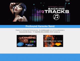 singprosound.com screenshot