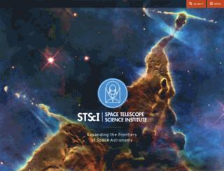 sings.stsci.edu screenshot