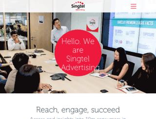 singtel.dgpreview.com.au screenshot