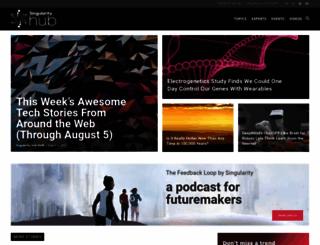 singularityhub.com screenshot