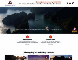 sinhcafetravel.com screenshot