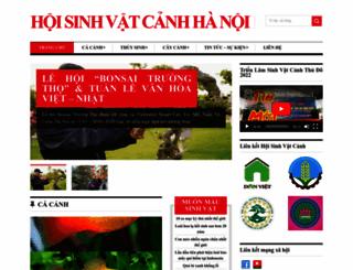 sinhvatcanh.org screenshot