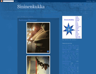 sininenkukkablog.blogspot.com screenshot