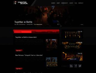 sinisterdesign.net screenshot