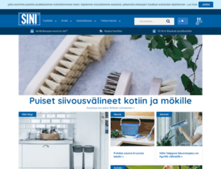 sinituote.fi screenshot