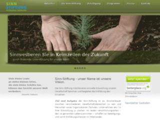 sinn-stiftung.eu screenshot