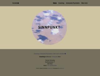 sinnpunkt.ch screenshot