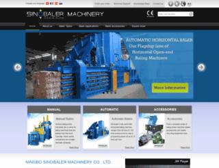 sinobaler.com screenshot