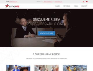 sinovia.cz screenshot