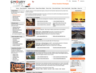 sinowaytravel.com screenshot