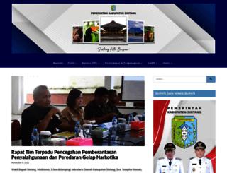 sintang.go.id screenshot